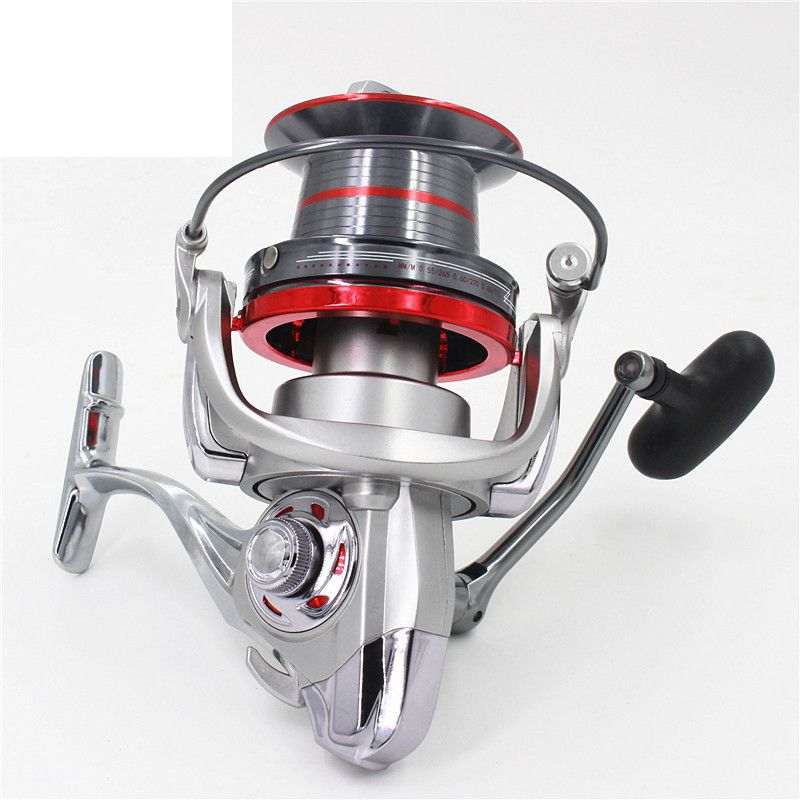 Long Shot Casting Reel 14+1BBs Biggest Metal Spinning Reel Fishing Reel For Carp Fishing Sea Fishing carretilha 9000 10000 12000 fishing reel long shot casting sea salt water spinning reel 3000 9000 full metal wire cup carretilha pesca