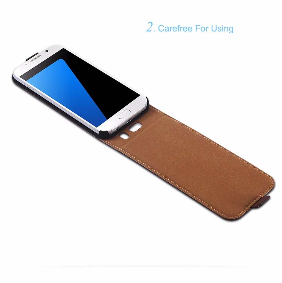 Hot Retro Genuine Leather Case for iPhone 5S I5 4S 4 Luxury Vertical Magnetic Flip Phone Accessories Real Full Cover For Iphone5 1 (4)