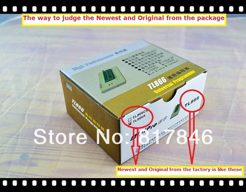 Free shipping V6.6 TL866A Universal USB Bios Programmer Support ICSP Support FLASH\EEPROM\MCU SOP\PLCC\TSOP better than TL866cs 2017 free shipping 100% original tl866a bios usb universal programmer icsp flash eeprom english