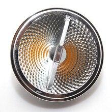 Высококачественный супер яркий светодиодный светильник AR111 15 Вт COB, светодиодный светильник AR111 QR111 G53, светодиодный светильник с регулируем...