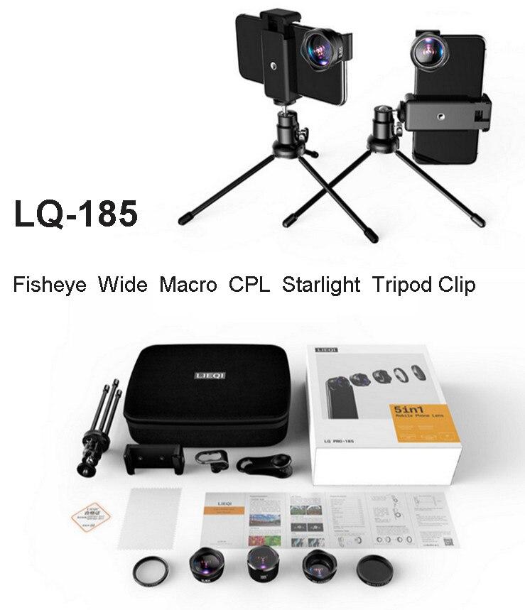 4 K HD DSLR Mobiele Telefoon Camera Lens Gaat Branden: foto Statief CPL Starlight Telefoon Filter + Awesome Fisheye & Brede Agnel & 15X Macro & Lens