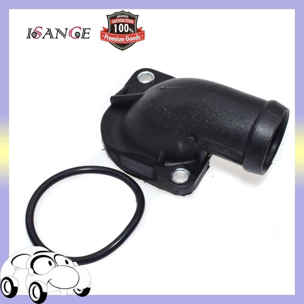 isance engine coolant thermostat housing cover 055 121 121f for audi 4000 80 90 vw jetta [ 1000 x 1000 Pixel ]