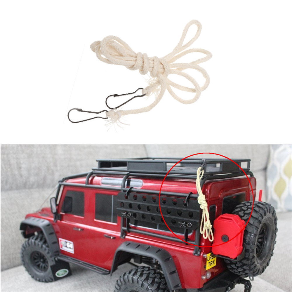Remote Control Toys 1pcs Limb Hemp Rope With Hook For 1/10 Rc Crawler Car Axial Scx10 Rc4wd D90 Cc01 Traxxas Trx4 Trx-4 Landrover D110 Invigorating Blood Circulation And Stopping Pains Toys & Hobbies