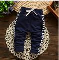 2016 New  Spring Lovely Letter Fashion Boy Newborn Pants Baby Boy Pants Cotton Children's Pants Baby Clothing Autumn 0-2T