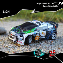 2017 Hot Sales 1:24 RC car 5 Channels Top Speed 25KM/H Remote Control Car for children Christmas Gifts