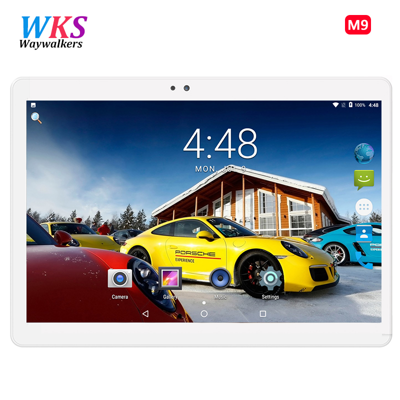 10.1 inch Tablet PC Android 7.0 MTK8752 Phablet Octa Core IPS Full HD 1920x1200 4GB RAM 32GB 64GB ROM Dual SIM WiFi GPS Tablets cige a6510 10 1 inch android 6 0 tablet pc octa core 4gb ram 32gb 64gb rom gps 1280 800 ips 3g tablets 10 phone call dual sim