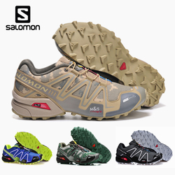 Salomon Speed Cross 3 CS Men Outdoor Sport Shoes Breathable Sneakers zapatillas Hombre Male Speedcross 3 running Shoes