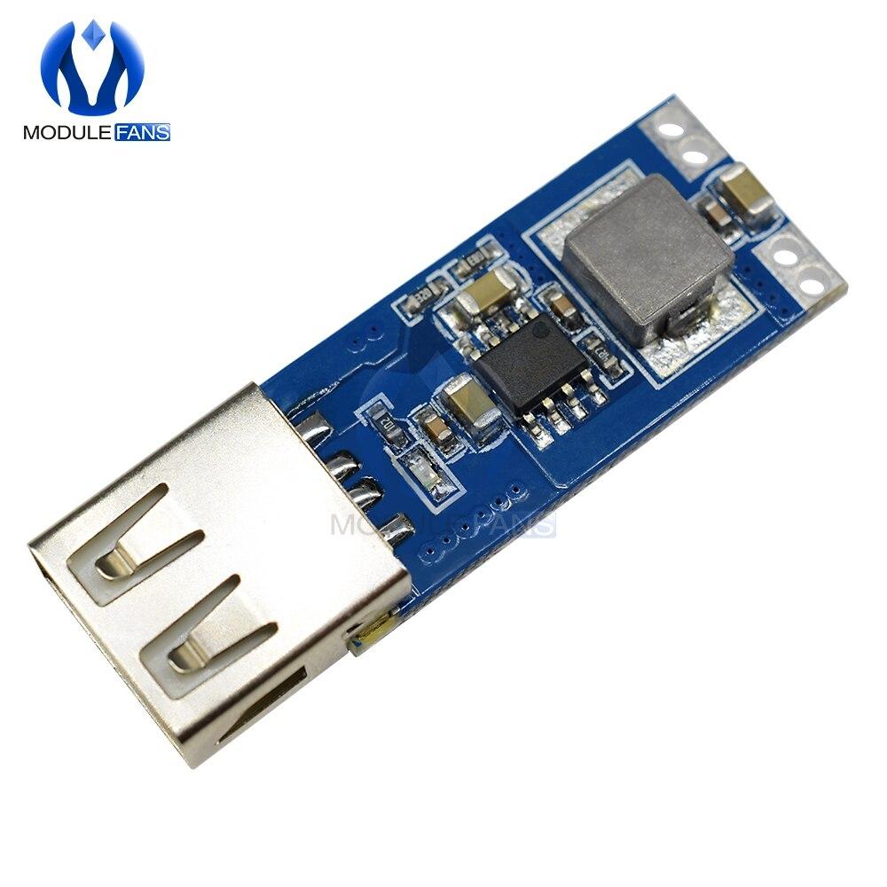 Повышающий Модуль заряда автомобиля, 3 в/3,3 В/3,7 в/4,2 в до 5 В, USB, 1 А, 2 А