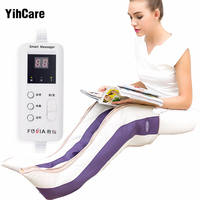 1Pair Far Infrared Magnetic Therapy Arthritis Rheumatism Treatment Device Vibration Electric Foot Leg Massager Heating Knee Pads