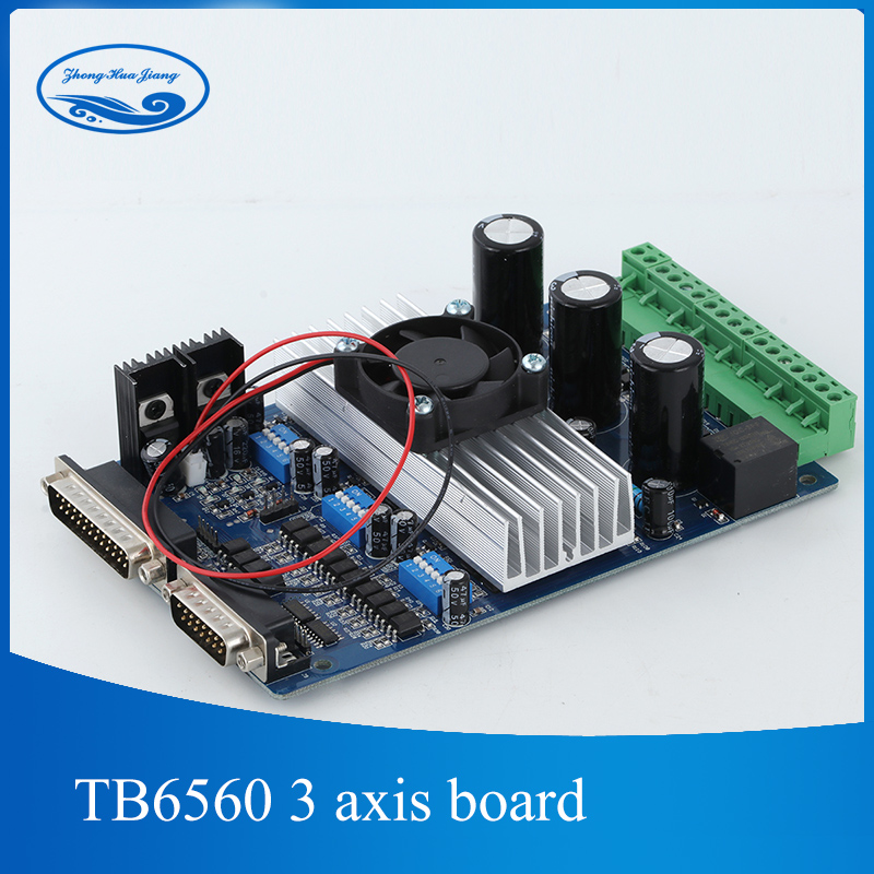 Tb6560 3 axis cnc controller tb6560 stepper motor driver for Cnc stepper motor controller