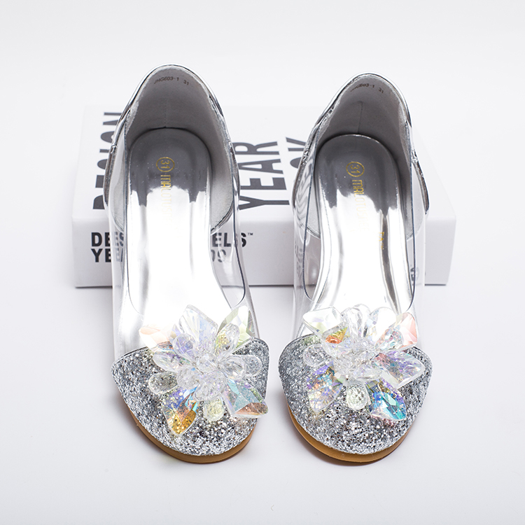 4a3286adc917 Detail Feedback Questions about Child Crystal Glitter Flats Little ...