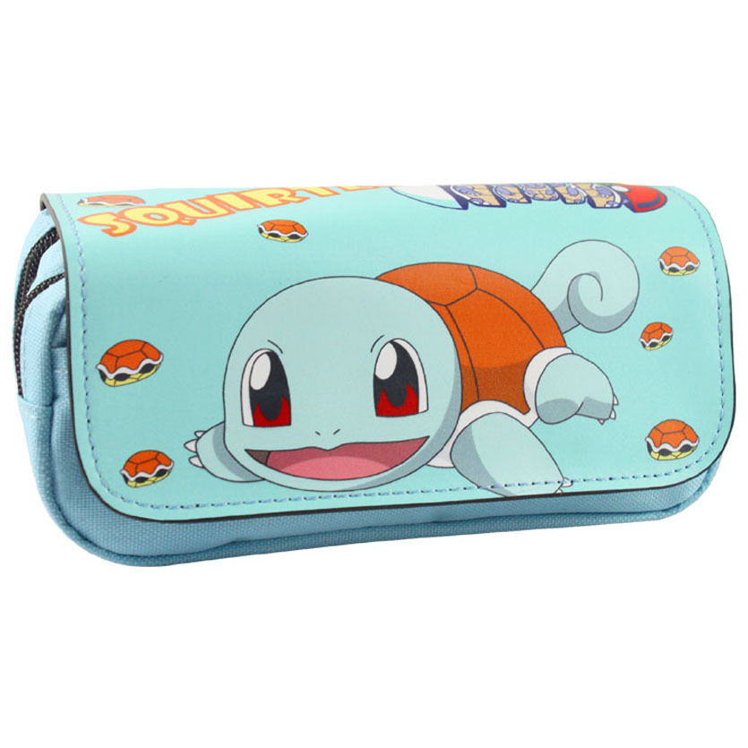 Cartoon Pencil Case Pokemon Pikachu Pencilcase Boutique Estuches School Supplies Estojo Stationery Gift Coin Pouch Zipper Bag