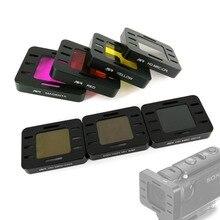ND4 ND8 ND16 CPL أحمر أرجواني أصفر اللون حامي عدسة تصفية لسوني MPK UWH1 HDR AS50 HDR AS50R AS300 AS300R X3000 X3000R