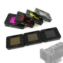 ND4 ND8 ND16 CPL Magenta Vermelho Amarelo Cor Da Lente Filtro Protetor para Sony HDR MPK UWH1 HDR AS50 AS50R AS300 AS300R X3000 x3000R