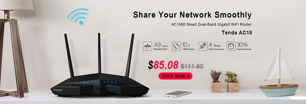 Tenda Nova MW6 WiFi Wireless Router Whole Home Mesh Gigabit WiFi