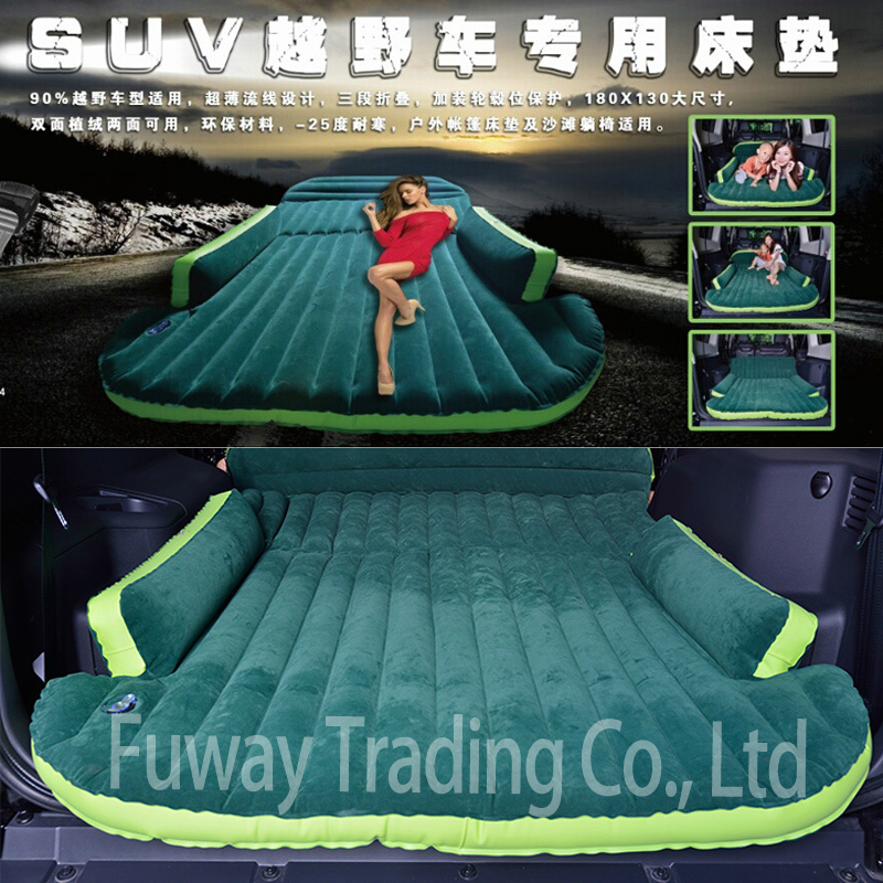 DHL Free Shipping!!! Big Size Car Inflatable Bed Outdoor travel car air mattress Bed Auto Supplies Car Travel Bed betos car air mattress travel bed auto back seat cover inflatable mattress air bed good quality inflatable car bed for camping