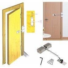 Дверной доводчик, регулируемый поверхностный монтаж, автоматический пружинный доводчик, противопожарная дверная пробка, дверное оборудование d90622