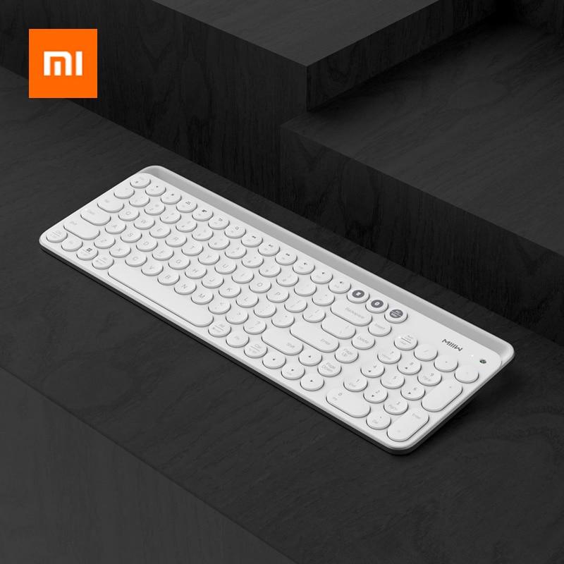 Xiaomi Miiiw 2.4G Wireless Keyboard 102 Keys Bluetooth Keyboard For Desktop/Laptop/Computer/Tablet/Phones/iPad/iPhone/Huawei-in Keyboards from Computer & Office