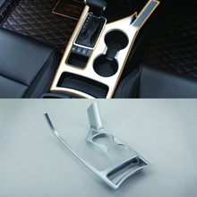 цена на Car Accessories LHD Interior Decoration ABS Front Center Gear Shift Panel Cover Trim 1pcs For Kia KX5/Sportage 2016