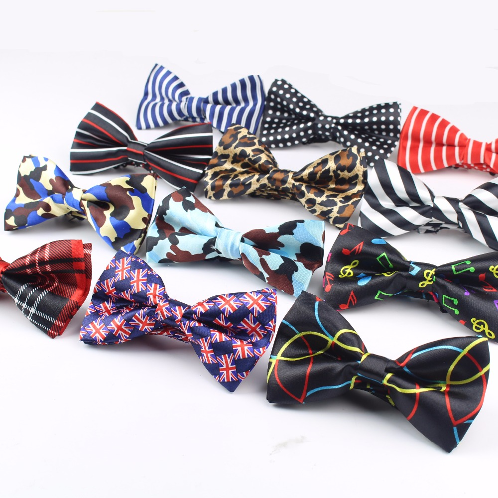 2020 Men's Bow Tie High Quality Flexible Bowtie Smooth Necktie Soft Matte Butterfly Decorative Pattern Solid Color Ties