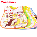 2016 NEW Cartoon design Baby bibs waterproof baby saliva newborn waterproof aprons Baby Bibs  babador Bandana bibs Baberos bebes