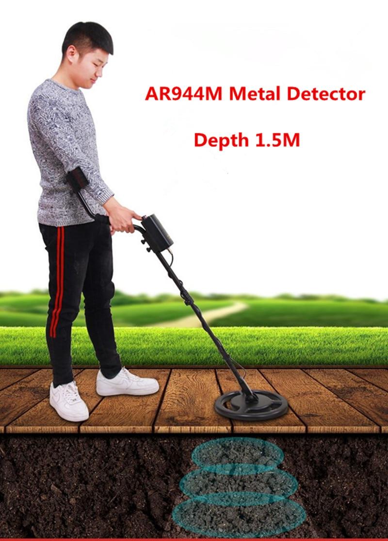 AR944M Professional Metal Detector Underground Gold Silver Metal Detector Hunter Treasure Seeker Finder Detecting Equipment gold detector underground metal detector treasure hunter professional gold metal detector metal finder