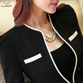 Autumn OL Women's trouser suit fashion clothes plus size S-4XL work wear long sleeve blazer with pants ladies office pants suits