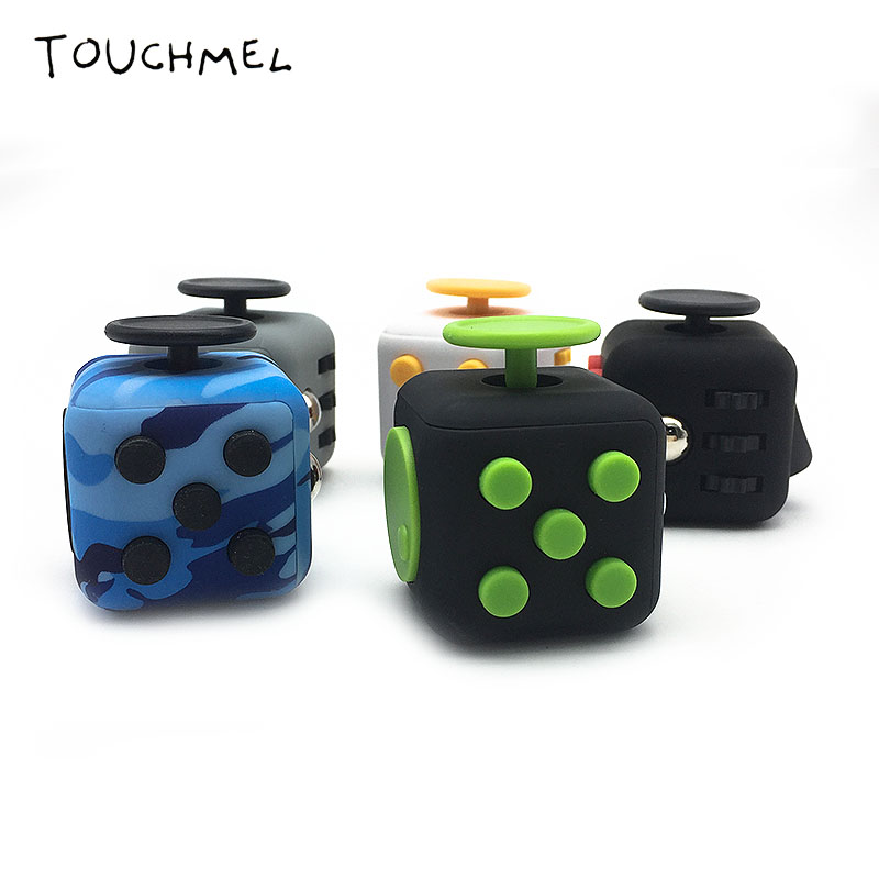 original fidget cube spinner vent toy anti stress edc free. Black Bedroom Furniture Sets. Home Design Ideas
