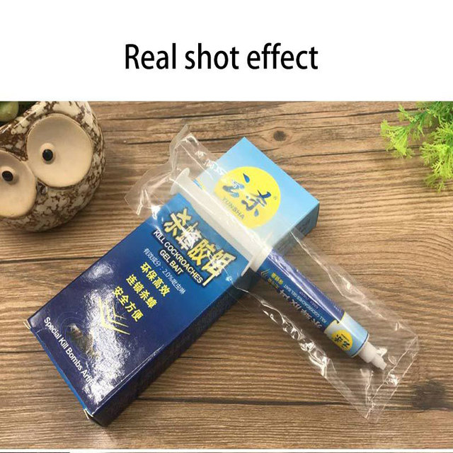 Strong attraction Cockroach Medicine Gel 10g Bait Trap Nontoxic Effects Insecticide Spraying  Friendly Cockroach Pest Control
