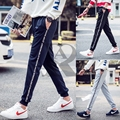 2017 AR fashion new Men's trousers joggers hip fitness pantalon homme casual pant  sweatpants M-5XL full size 4 color Letters