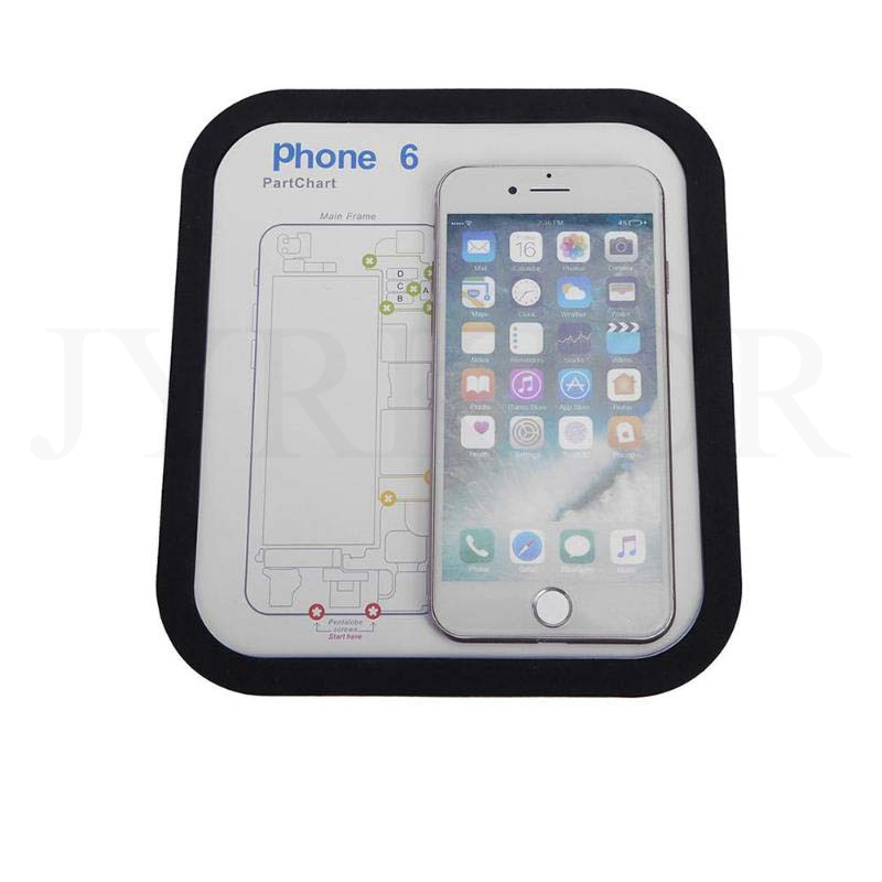 Size Professional Cell Phone Accessory Kits Compatible with iPhone 6 /& 6s /& 6 Plus /& 6s Plus /& 7 /& 7 Plus Magnetic Memory Screws Mat 27.7cm X 15.9cm