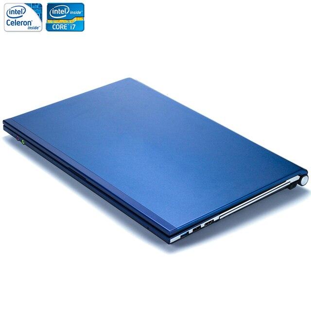 15.6 дюйма 8 ГБ Оперативная память + 500 ГБ HDD i7 или J1900 Процессор Оконные рамы 7/10 Системы 1920x1080 P FHD Wi-Fi bluetooth ноутбук Тетрадь компьютер
