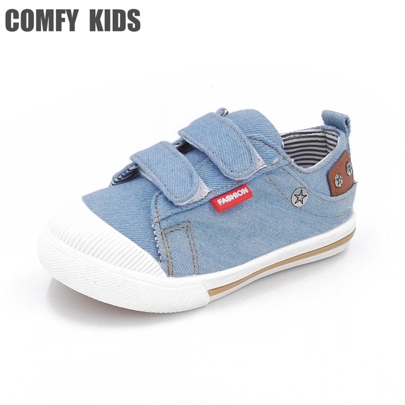 Comfy kids girls boys sneakers canvas fashion spring autumn child canvas shoescausal flat with kids sports child sneaker boys