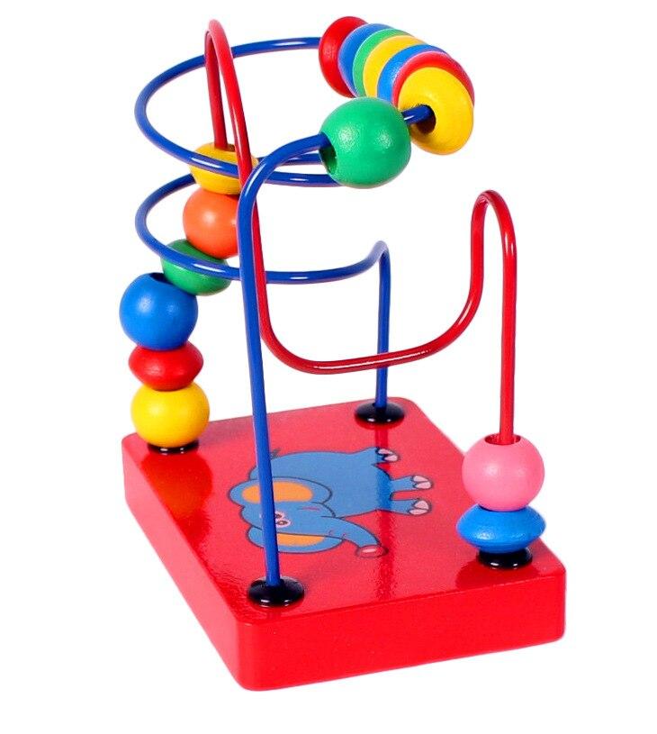Kid Bildungs Lernen Spiel Blöcke Kinder Montessori Hölzernen ...