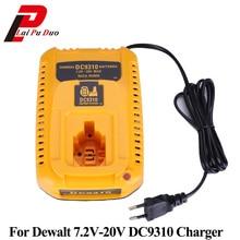 Для Dewalt DC9310 Батарея Зарядное устройство 7,2 В-20 В Ni-CD и Ni-mh Батарея DW9057 DC9071 DC9091 DC9096 batteia Зарядное устройство