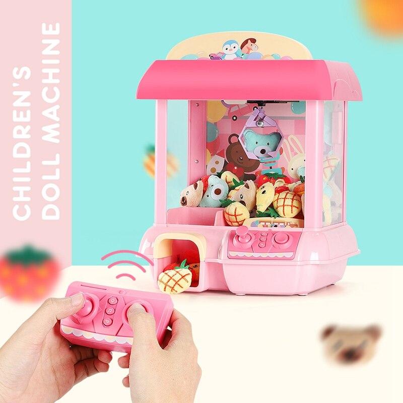 Maison licorne poupée 12 Mini Mickey musique poupée Rechargeable électronique attraper bricolage poupée Machine peluche Mnimals bébé jouets Lol poupées - 2