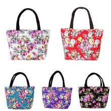 Простые Модные женские сумки-мессенджеры, холщовые сумки с цветочным принтом, сумки на молнии для девочек, дамская сумка на плечо, большая вместительность, лучший S
