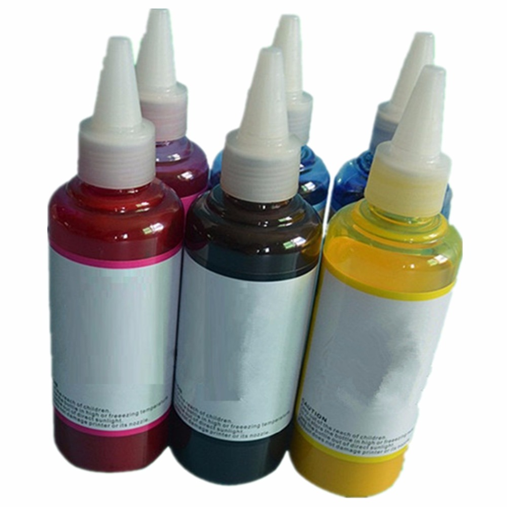 T0801 Refill Dye Ink Kit For Epson Stylus Photo P50 R265 R285 R360 RX560 RX585 PX650 RX685 PX700W PX710W PX800FW Printers|ink kit|dye ink|refill ink kit - title=