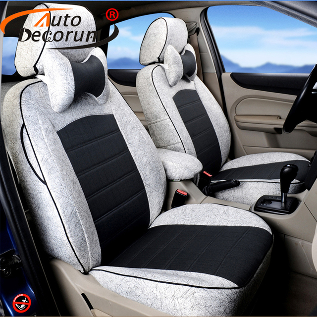 AutoDecorun Custom Covers Car Seats For Ford Escape 2008 Seat Cover Cars Cushion Supports