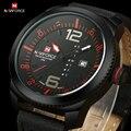 2016 nueva NAVIFORCE moda relojes hombres lujo marca hombre de cuarzo horas fecha reloj reloj deportivo hombre ejército militar reloj de pulsera