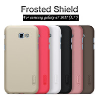 NILLKIN For Samsung A7 2017 Case 5 7 Frosted Hard Plastic Back Cover With Screen Protector