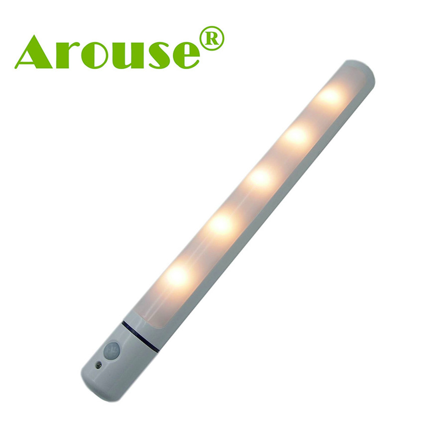 AROUSE Night Light Motion Sensor Motion Sensing LED Night Light Wireless LED Closet Ligh ...