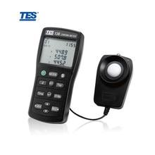TES-136 CHROMA светильник измеритель люкса цветной Термометр Тестер