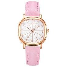 2017 New Fashion Watches Women Luxury Brand JW Rose Gold Creative Watch Clock Ladies Casual Leather Quartz Dress Wristwatches