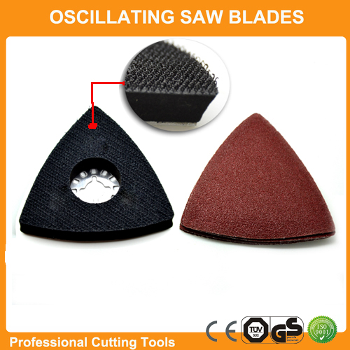 Promotion: 26pcs Sanding Paper+Triangular Sanding Pad Fits For Fein Dremel Multifunction Oscillating Power Multi Tools