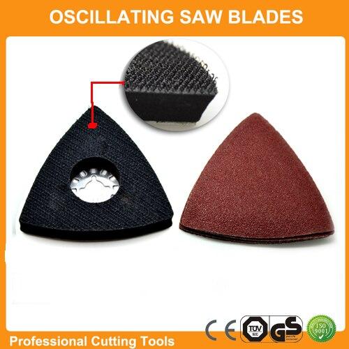 Promotion: 26pcs Sanding Paper+Triangular Sanding Pad Fits For Fein Dremel Multifunction Oscillating Power Multi Tools