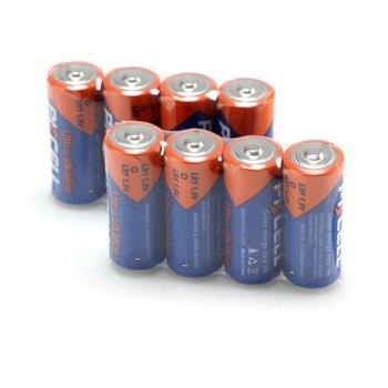 100 piezas PKCELL N alcalinas de tamaño de la batería 1,5 V LR1 E90 MN9100 AM5 UM-5 KN baterías alcalinas para relojes ¡Bluetooth auriculares ect!