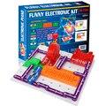 Электронные строительные блоки научное образование игрушки Творческий физический эксперимент технология Детские обучающие игрушки W789