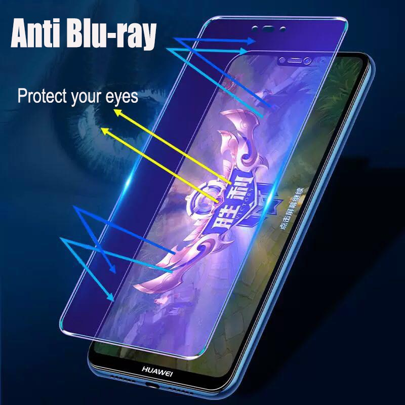Image 4 - 2pcs/lot Full Screen Tempered Glass For Huawei Nova 3 Anti Blu ray Full Coverage Glass Protective film For Huawei Nova 3i glass-in Phone Screen Protectors from Cellphones & Telecommunications on