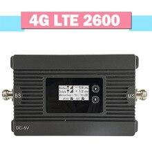Walokcon 4G LTE 2600 усилитель сигнала мобильного телефона 80дБ усиление AGC ЖК-дисплей повторитель сигнала 4G LTE 2600 МГц усилитель сигнала
